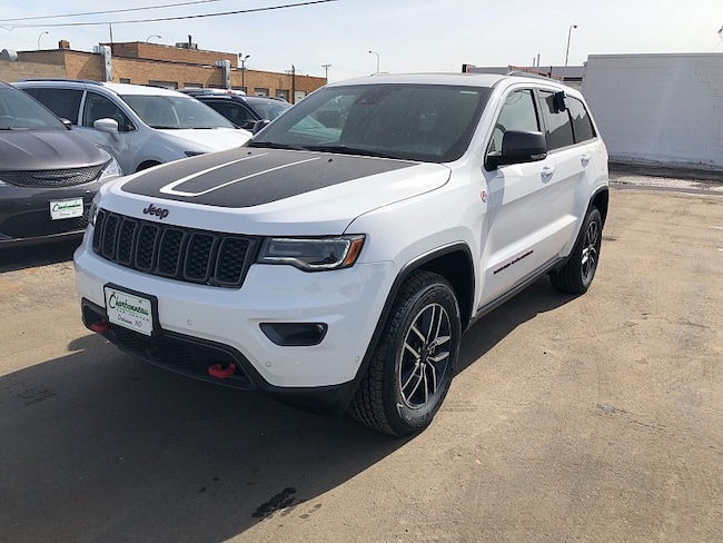 New 2019 Jeep Grand Cherokee TRAILHAWK 4X4 Sport Utility For Sale/Lease Dickinson, ND