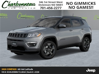 New 2020 Jeep Compass ALTITUDE 4X4 Sport Utility For Sale Dickinson ND