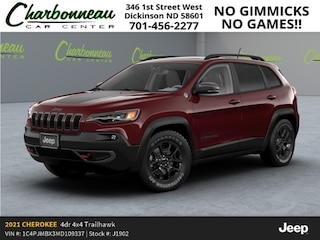 New 2021 Jeep Cherokee TRAILHAWK 4X4 Sport Utility For Sale Dickinson ND