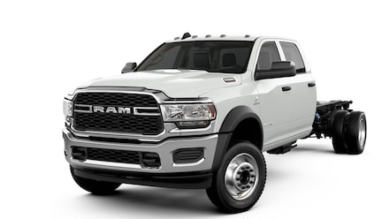 2019 Ram 5500 Chassis Cab 5500 TRADESMAN CHASSIS CREW CAB 4X4 197.4 WB Crew Cab
