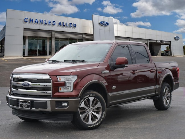 2017 Ford F-150 King Ranch Crew Cab Short Bed Truck