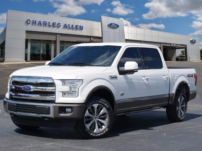 2016 Ford F-150 King Ranch Crew Cab Short Bed Truck