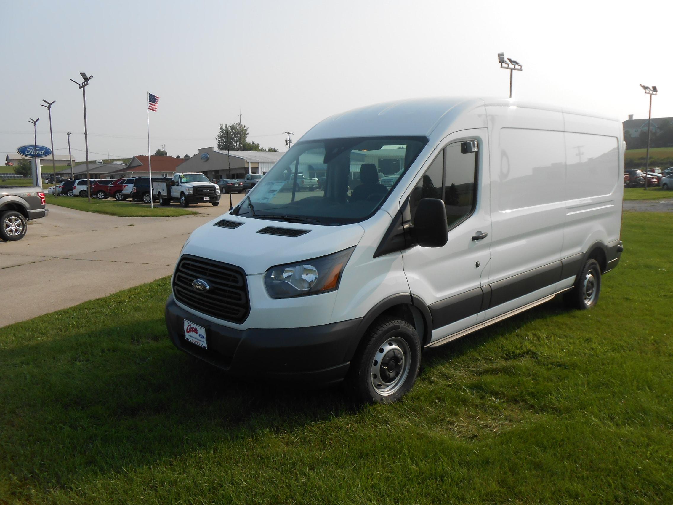 2018 Ford Transit Van Cargo Van T-250 148 Med Rf 9000 GVWR Sliding RH Dr
