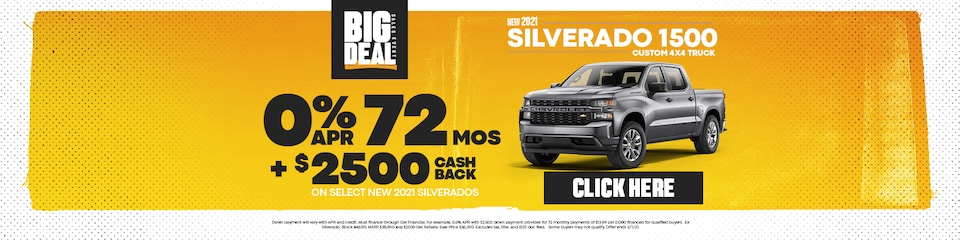 New 2021 Chevrolet Silverado 1500 Sale