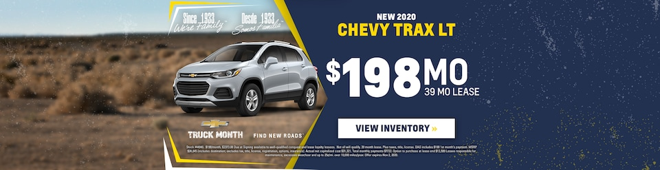 New 2020 Chevrolet Trax Sale