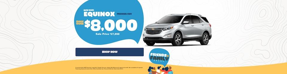 New 2021 Chevy Equinox Sale