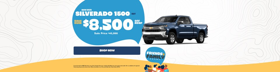 New 2021 Chevy Silverado Sale