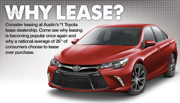 Why Lease Charles Maund Toyota