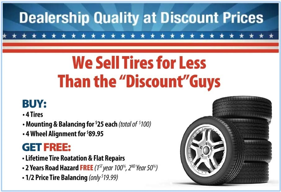 Tire For Less >> Order Tires From Charles Maund Toyota For Less Than Discount Tire