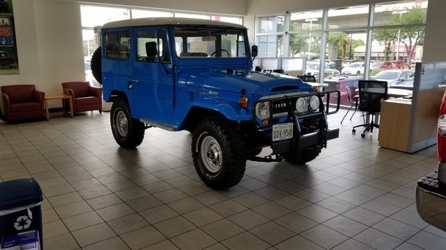 1969 Toyota Land Cruiser U
