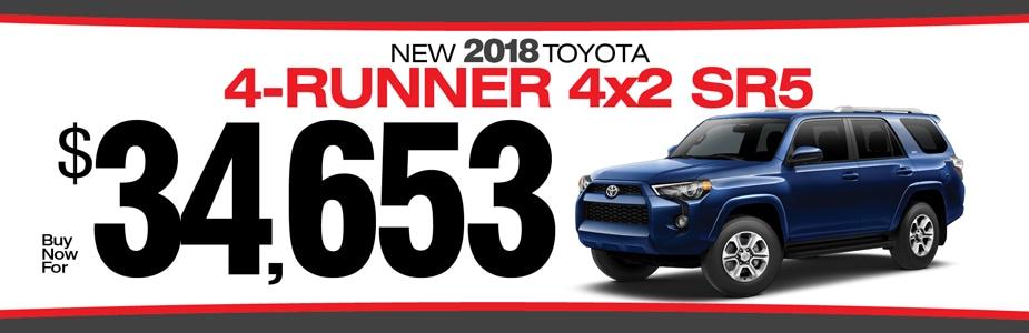 Delightful 2018 TOYOTA 4 RUNNER SPECIALS From Charles Maund Toyota | Austin Toyota  Dealer