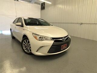 Certified 2016 Toyota Camry Hybrid Hybrid XLE Sedan in Austin, TX