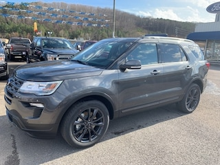2019 Ford Explorer XLT Sport, 4WD, Leather, Nav, Twin Panel Roof, Saf SUV