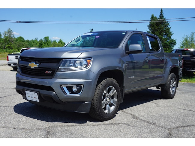 Used 2018 Chevrolet Colorado Z71 Truck Crew Cab For Sale Augusta, ME