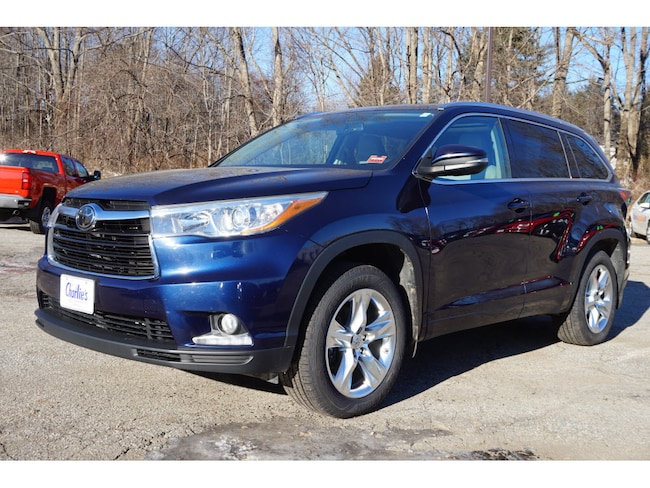Used 2015 Toyota Highlander SUV For Sale Augusta, ME
