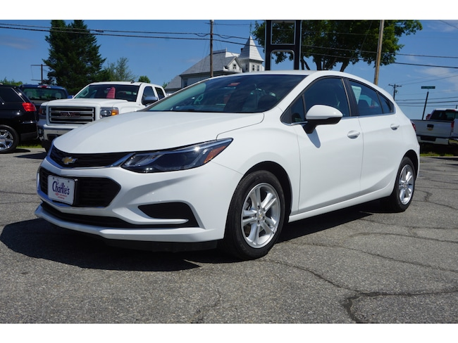 Used 2018 Chevrolet Cruze LT Auto Hatchback For Sale Augusta, ME