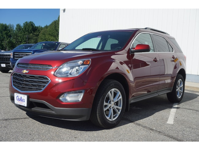Used 2016 Chevrolet Equinox LT SUV For Sale Augusta, ME