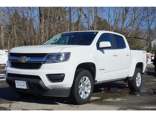 Certified Pre Owned 2019 Chevrolet Colorado LT Truck Crew Cab Augusta ME