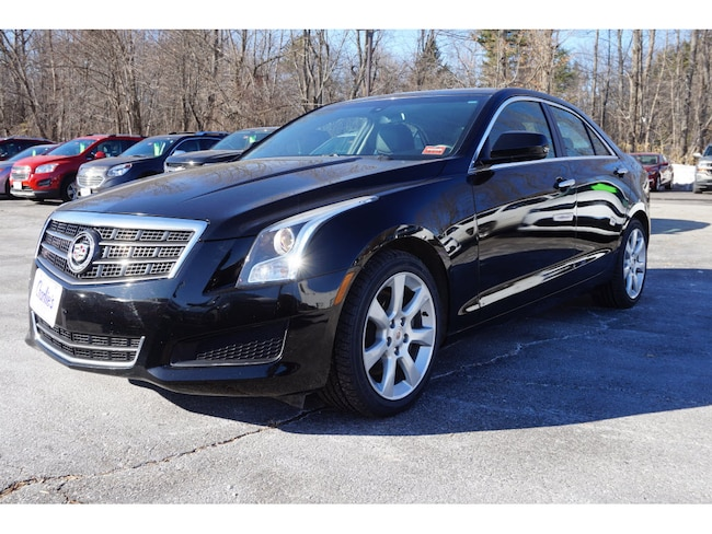 Used 2014 CADILLAC ATS 2.0L Turbo Sedan For Sale Augusta, ME