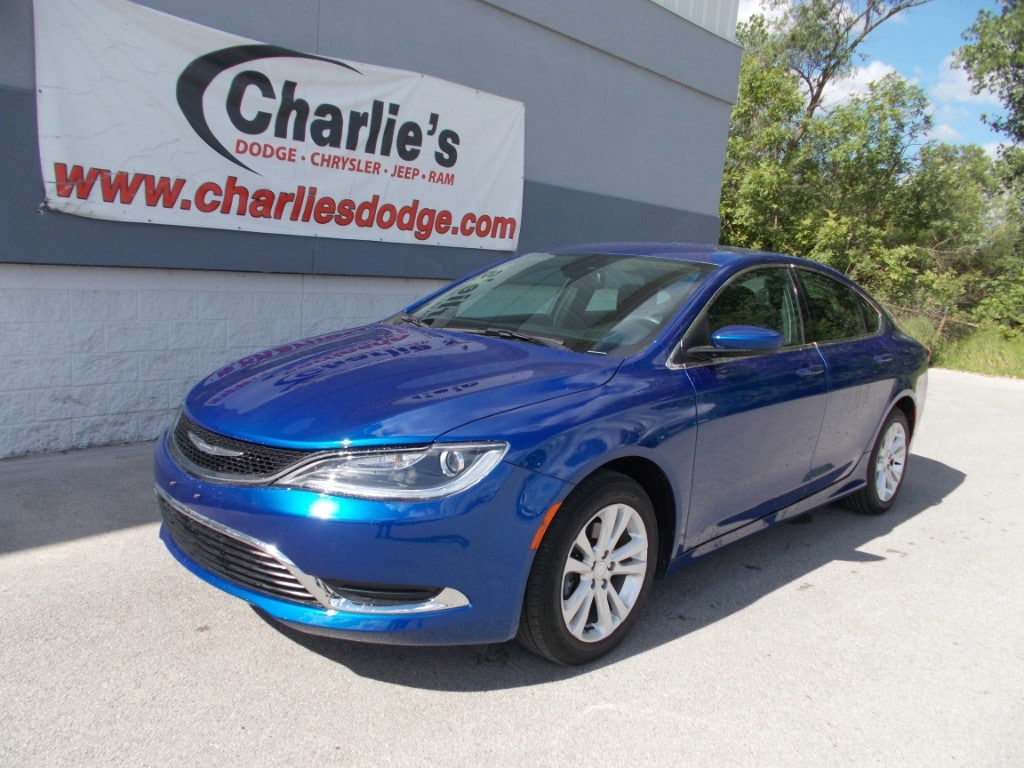Chrysler 200 In Maumee Oh Charlies Dodge Jeep Ram 2011 Fuel Filter 2016 Limited Sedan