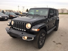 New 2018 Jeep Wrangler UNLIMITED SAHARA 4X4 Sport Utility Maumee Ohio