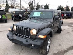 New 2018 Jeep Wrangler UNLIMITED SPORT S 4X4 Sport Utility Maumee Ohio