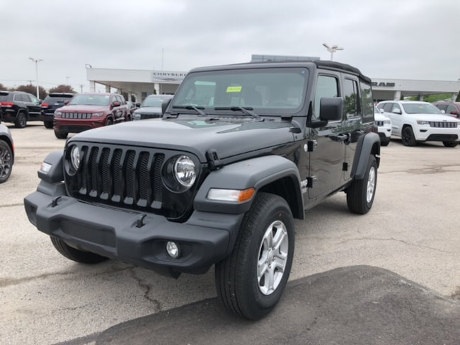 New 2018 Jeep Wrangler UNLIMITED SPORT S 4X4 Sport Utility Near Toledo Ohio
