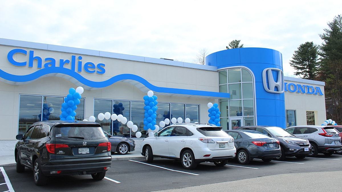 Honda Dealerships Near Me >> About Charlie S Honda Dealership In Maine New And Used Car Dealer