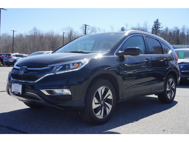 Certified Pre-Owned 2016 Honda CR-V Touring AWD SUV continuously variable automatic Augusta ME