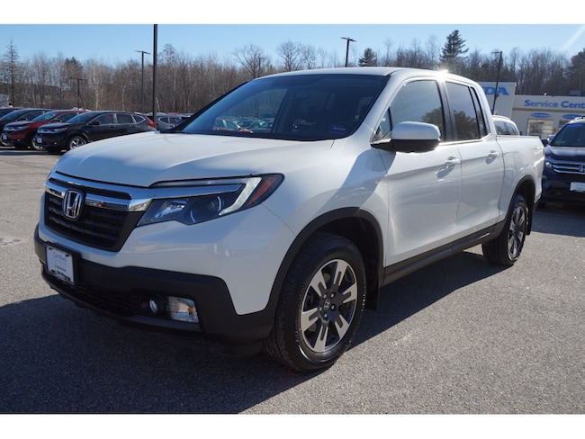 Certified Pre-Owned 2018 Honda Ridgeline RTL-T AWD Truck Crew Cab 6 speed automatic Augusta ME