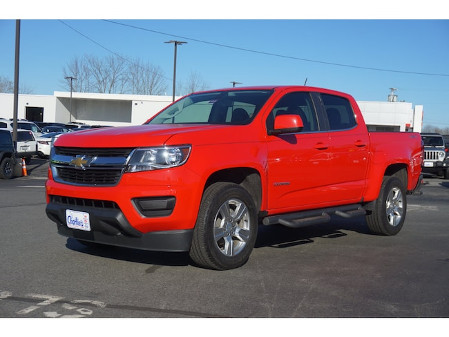 Used 2017 Chevrolet Colorado LT Truck Crew Cab For Sale Augusta, ME