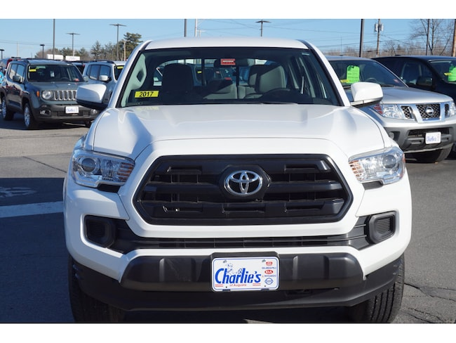 used 2017 toyota tacoma for sale augusta me stock n8127a. Black Bedroom Furniture Sets. Home Design Ideas