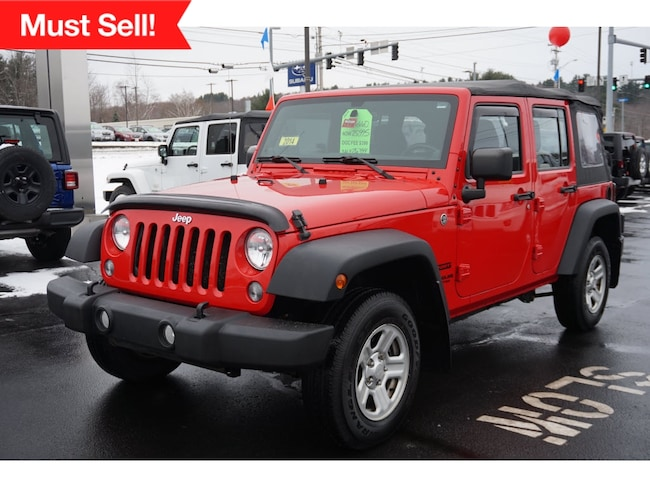 Used 2014 Jeep Wrangler Unlimited Sport 4x4 SUV Augusta