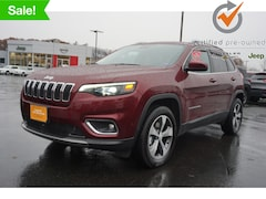 Certified used 2019 Jeep Cherokee Limited 4x4 SUV 1C4PJMDX3KD449159 for Sale in Augusta, ME