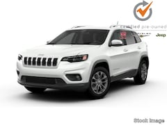 Certified used 2019 Jeep Cherokee Latitude Plus 4x4 SUV for Sale in Augusta, ME