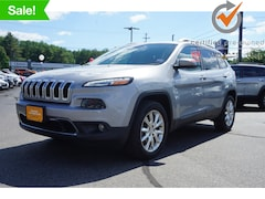 Certified used 2016 Jeep Cherokee Limited 4x4 SUV 1C4PJMDS9GW269684 for Sale in Augusta, ME