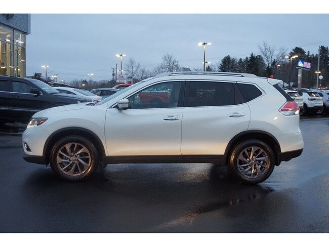 used 2016 nissan rogue for sale in augusta me near waterville gardiner vin 5n1at2mv6gc784847. Black Bedroom Furniture Sets. Home Design Ideas