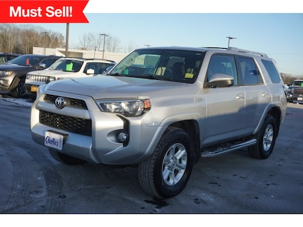 Featured Used 2016 Toyota 4Runner SR5 SUV for Sale near Waterville, ME