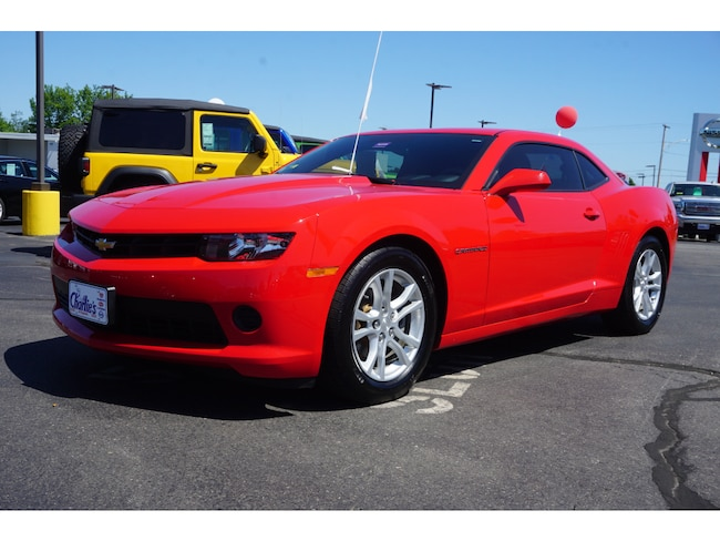 Used 2015 Chevrolet Camaro LS w/2LS Coupe Augusta