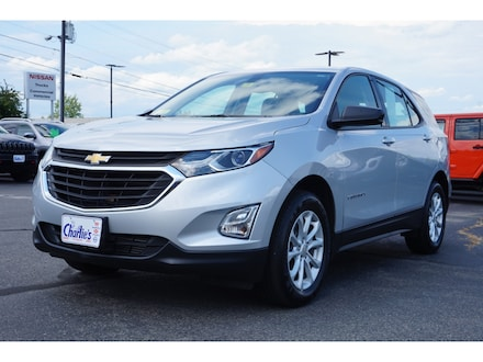 Featured Used 2018 Chevrolet Equinox LS SUV for Sale near Waterville, ME