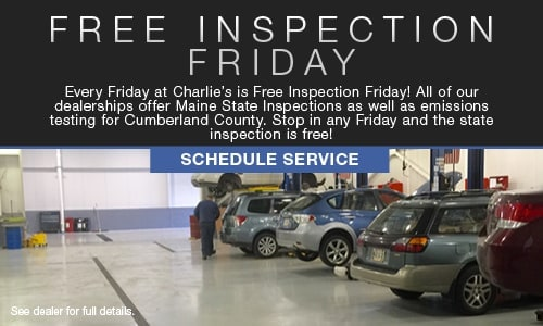 Free Inspection Friday
