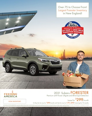 2021 Subaru Forester Premium with Power Liftgate and Blind Spot Detection