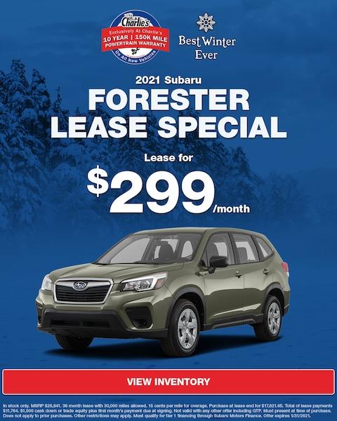 2021 Subaru Forester Lease Special