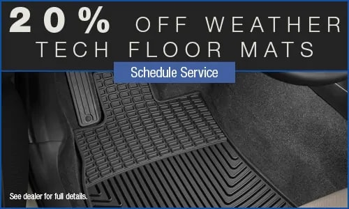 Weather Tech Floor Mats