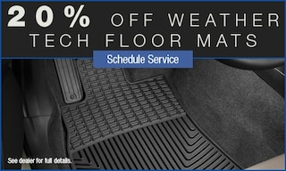 20% Off Weather Tech Floor Mats