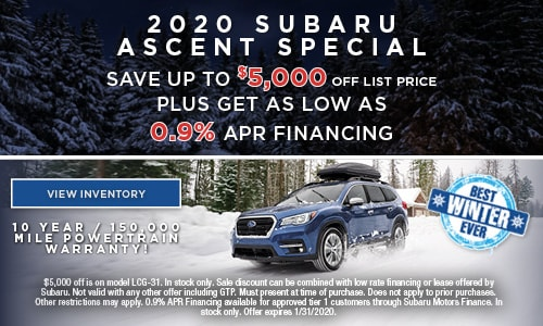Subaru 0 Financing >> New Subaru Special Offers Augusta Maine