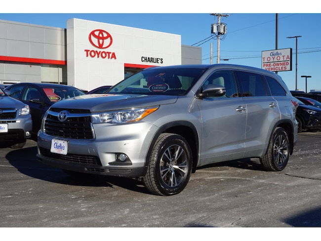 2016 Toyota Highlander For Sale >> Used 2016 Toyota Highlander For Sale Augusta Me Stock T9152a