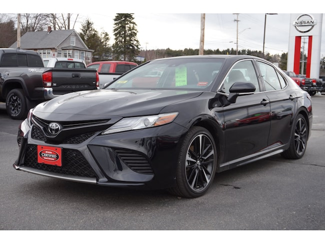 Used 2018 Toyota Camry Sedan For Sale Augusta, ME