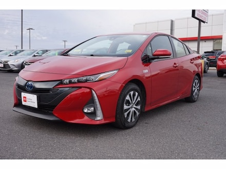 Featured Used 2020 Toyota Prius Prime Limited Hatchback for Sale near Waterville, ME