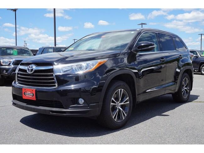 Used 2016 Toyota Highlander SUV For Sale Augusta, ME